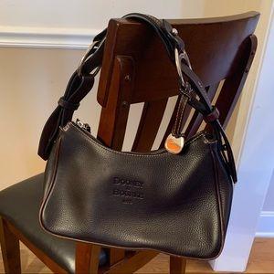 Dooney & Bourke classic black/brown hobo bag